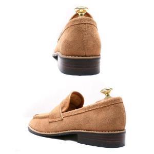 本革 ローファー メンズ カジュアル 靴 スウェード スエード fa4800|little-globe|04