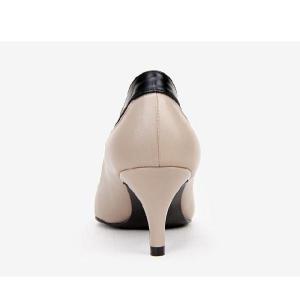 バイカラー 靴 レディース パンプス 25cm 25.5 26センチ le0224 2013 新作|little-globe|04