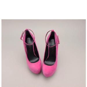 ラウンドトゥ 大きいサイズ 靴 レディース パンプスストラップつきピンヒール le11248 2013 新作 little-globe 05