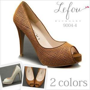 オープントゥ 大きいサイズ 靴 レディース パンプス 25cm 25.5 26センチ le9004-4 2013 新作|little-globe