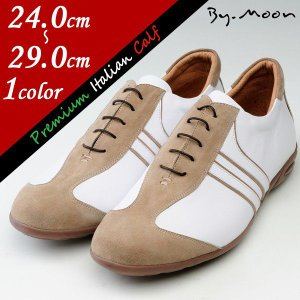 スニーカー 大きいサイズ 小さいサイズ 靴 職人品質 ハンドメイドシューズ ハイテクスニーカー コラボ TMS2510003CMWH|little-globe