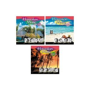 洋楽CD ハワイアンベスト 〜スウィートレイラニ、ラヴリーフラハンズ、アロハオエ 3枚組 little-trees