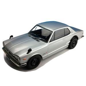 日産のスポーツカー「スカイライン」の1/18スケールのモデルカーです。 製造国:中国 素材・材質:亜...