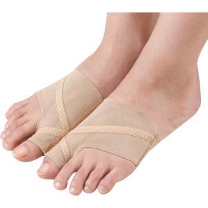 足指を開くことで地面にしっかり指で踏み込むことができるようになり、正しい歩行へと導きます。伸び感の強...