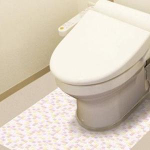 トイレの床の表面を、汚れやキズから守りたい!!そんな願いから生まれた商品です。のりを使用しておりませ...