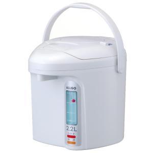 プラグを外しても給湯できるエアー式の電気ポットです。押しやすい大型プッシュ板でらくらく給湯!!内容器...