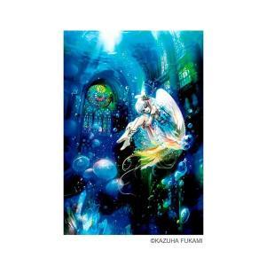ジグソーパズル 1000マイクロピース 深泉 万葉 アクア エンジェル 〜Aqua Angel〜 M81-529|little-trees