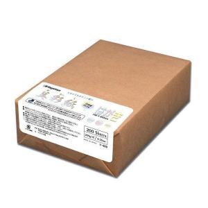 長門屋商店 美彩紙 はがきサイズ(両面無地・ホワイト) 200枚包 ナ-969