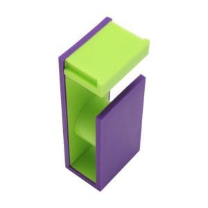 mt tape cutter 2tone パープル×ライムグリーン MTTC0024