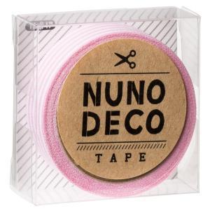 KAWAGUCHI(カワグチ) 手芸用品 NUNO DECO ヌノデコテープ ももいろしましま 11-847|little-trees