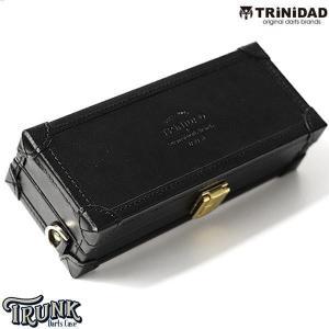 TRiNiDAD ダーツケース TRUNK ブラック×ブラック|little-trees