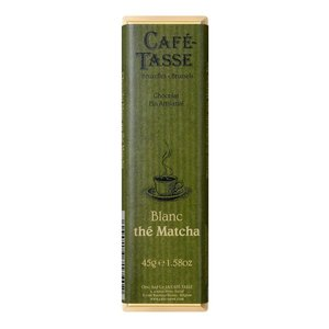 (代引不可)CAFE-TASSE(カフェタッセ) 抹茶ホワイトチョコ 45g×15個セット