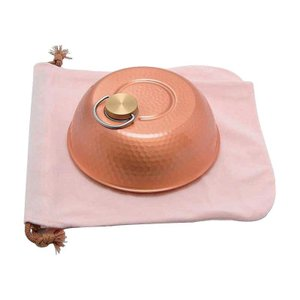 (代引不可)新光堂 銅製ドーム型湯たんぽ(小) S-9398S
