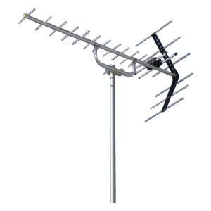 日本アンテナ 地デジアンテナ 家庭用屋外UHFアンテナ(13〜52ch受信用) AU14R(直付)