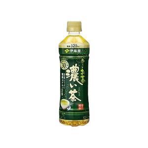 〔まとめ買い〕伊藤園 おーいお茶 濃い茶 ペットボトル 525ml×24本(1ケース)