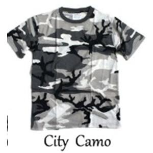 カモフラージュ Tシャツ( 迷彩 Tシャツ) JT048YN シティー カモ Lサイズ|little-trees