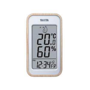 TANITA デジタル温湿度計 ナチュラル 100-05G〔代引不可〕