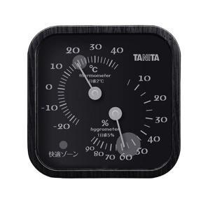 【商品名】 TANITA 温湿度計 ブラック 388-09G 【ジャンル・特徴】 気軽における、小型...