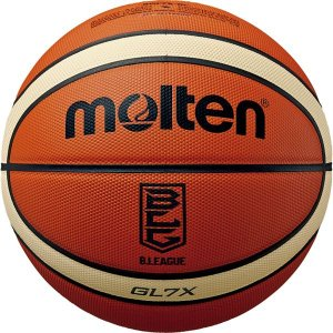 モルテン(Molten) バスケットボール7号球 GL7X Bリーグ公式試合球 BGL7XBL|little-trees