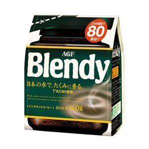AGF ブレンディ インスタントコーヒー 詰替用 1袋(160g)|little-trees