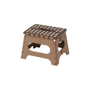 【商品名】 セノ・ビー22cm ブラウン 10055 【ジャンル・特徴】 折り畳み式の踏み台。天板は...