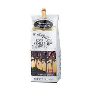 (まとめ)ハワイアン・アイルズ・コナ・コーヒー コナバニラマカダミア 198g 1袋〔×5セット〕|little-trees