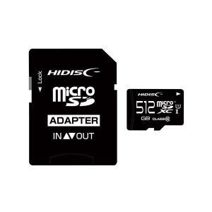 HIDISC microSDXCカード 512GB A2 V30 CLASS10 UHS-1 Speed Class3対応 SD変換アダプタ付き HDMCSDX512GCL10UIJP3|little-trees