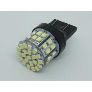 T20 ウエッジ球 50SMD LED 光拡散タイプ<白・6000K> DC12V 21/5W 置換...