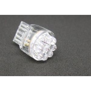 T20 ウエッジ球 9 LED 軸方向高輝度タイプ<白> DC12V 21/5W 置換え ダブル球