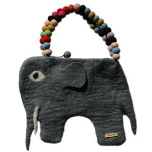 キッズバッグ/KID'S BAG/elephant bag(エレファントバック)Lサイズ/EN GRY&SIF|little