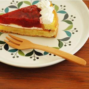 木製カトラリー・デザートフォーク/Wooden dessert fork|little