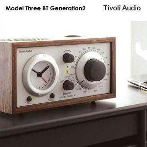 Model Three BT(モデル・スリー ビーティー)Bluetooth対応モデル ウォールナット×ベージュ アラームクロックラジオ/Tivoli Audio(チボリオーディオ) little