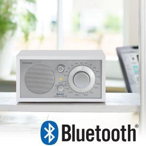 Tivoli Audio(チボリオーディオ)Model One BT(モデル・ワン ビーティー)Bluetooth対応モデル ホワイト×シルバー ラジオ little