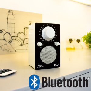 PAL BT(パル・ビーティー)Bluetooth対応モデル/ブラック×ホワイト/ポータブルラジオ/Tivoli Audio(チボリオーディオ) little