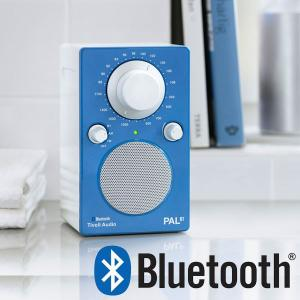 PAL BT(パル・ビーティー)Bluetooth対応モデル ブルー ポータブルラジオ/Tivoli Audio(チボリオーディオ) little