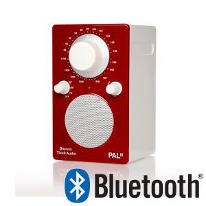 PAL BT(パル・ビーティー)Bluetooth対応モデル レッド ポータブルラジオ/Tivoli Audio(チボリオーディオ) little