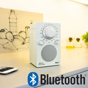 PAL BT(パル・ビーティー)Bluetooth対応モデル/ホワイト/ポータブルラジオ/Tivoli Audio(チボリオーディオ) little