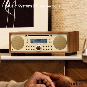 Music System BT(ミュージックシステム ビーティー)Bluetooth対応モデル/ウォールナット×ベージュ/ラジオ/Tivoli Audio(チボリオーディオ)|little