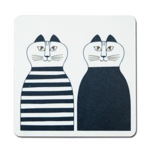 木製コースター Minmi(ミンミ)Lisa Larson(リサラーソン)opto design 北欧雑貨|little