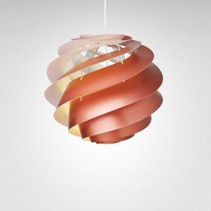 北欧ペンダントライトLE KLINT(レ・クリント)Swirl(スワール)3 Copper(コッパー) スモールサイズ|little