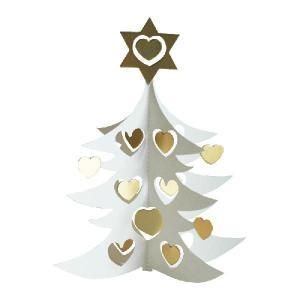 モビール/White tree w hearts double 18cm(ホワイトツリー・モビール)/Livingly(リビングリー)/北欧モビール|little