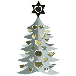 モビール/White tree w hearts double 27cm(ホワイトツリー・モビール)/Livingly(リビングリー)/北欧モビール|little