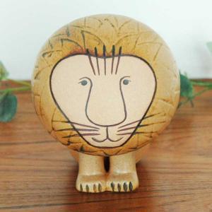 Lisa Larson(リサ ラーソン)/Lion(ライオン)ミディアムサイズ 置物 北欧オブジェ|little