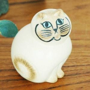 リサ・ラーソンLisa Larsonの可愛い置物ネコMIA CAT。 ■商品名:MIA CAT/ホワ...