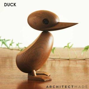 Duck (ダック)Architectmade(アーキテクトメイド) 北欧木製オブジェ置物 北欧雑貨|little