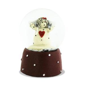 Snowglobe Small Angel(スノーグローブ・スモールサイズ・エンジェル)NAASGRANSGADEN(ネースグレンズゴーデン)北欧雑貨・置物・オブジェ|little