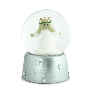 スノードーム・Snowglobe Small Lucia(スノーグローブ・スモールサイズ・ルシア)NAASGRANSGADEN(ネースグレンズゴーデン)スウェーデン|little