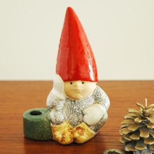 Lisa Larson(リサ ラーソン)/Santa Boy(サンタ・ボーイ)トムテファミリー/北欧オブジェ・置物|little