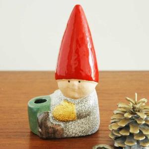 Lisa Larson(リサ ラーソン)/Santa Boy with Drum(サンタ・ボーイとドラム)トムテファミリー/北欧オブジェ・置物|little