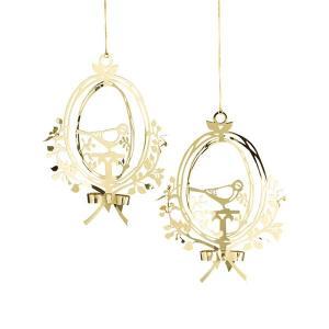 Bird Ornament(バード・オーナメント)Sサイズ2個セット/jette frolich(イエッテ・フローリッヒ)クリスマスオーナメント/北欧デンマーク|little